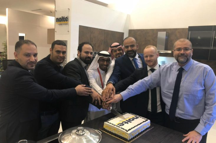 During the grand opening of Al Hassa2 branch